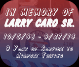 in memory of Larry Carro Sr.